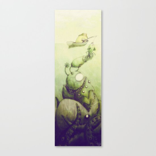 Ooli Sea Canvas Print
