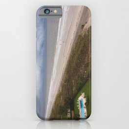 Stormy Weather at the Beach iPhone Case