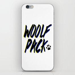 WOOLFPACK iPhone Skin