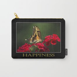 Inspiring Happiness Carry-All Pouch