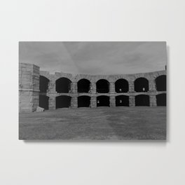 Fort Popham Metal Print