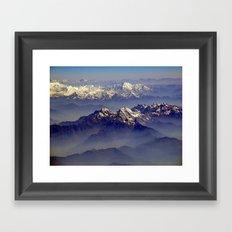 Himalayas Landscape Framed Art Print