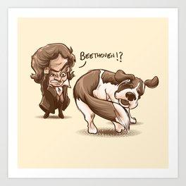 Beethoven!? Art Print