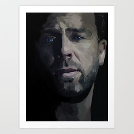JR Bourne Art Print