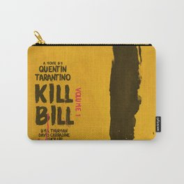 Kill Bill, Quentin Tarantino Movie Poster, Alternative film playbill Art, Uma Thurman, Lucy Liu Carry-All Pouch