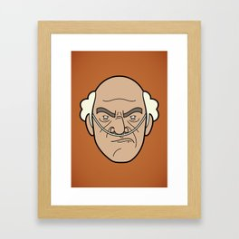 Faces of Breaking Bad: Hector Salamanca Framed Art Print