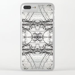 Spindle Clear iPhone Case
