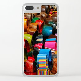 Colors of the Caribbean Clear iPhone Case
