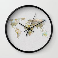 new order Wall Clocks featuring NEW ORDER by Bianca Green