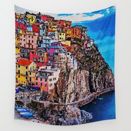 Italy, Cinque Terre Wall Tapestry