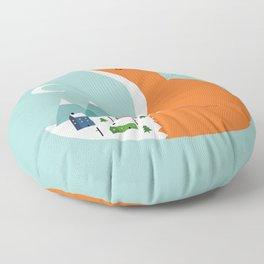 Winter Dreams Floor Pillow