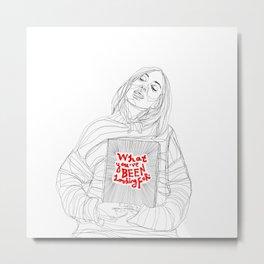 am I? Metal Print