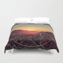 Peel Sunset Duvet Cover