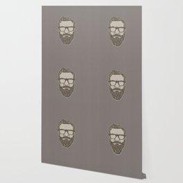 Vintage Hipster Man Wallpaper