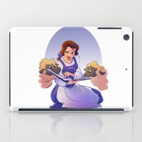 belle iPad Cases featuring Belle by samanthadoodles