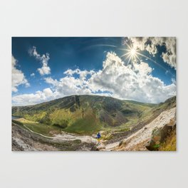Wicklow Sunny Sky Canvas Print