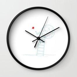 The wish Wall Clock
