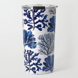 Sea life collection pattern Travel Mug