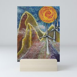 Windy Day in Tucker County Mini Art Print