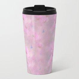 PINK SPRING TIME FLOWER GARDEN Travel Mug