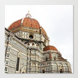 Basilica Santa Maria Del Fiore Duomo Canvas Print