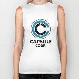 Capsule Corp Vintage bright Biker Tank