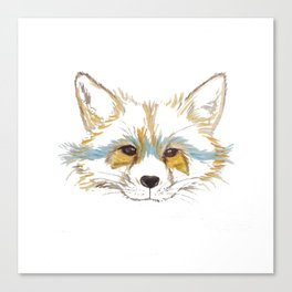 Foxee Canvas Print