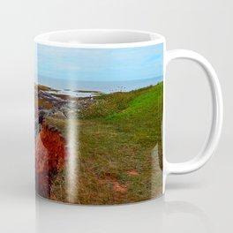 PEI Shoreline in Point Prim Coffee Mug