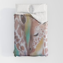 Love Is All Around Us Duvet Cover