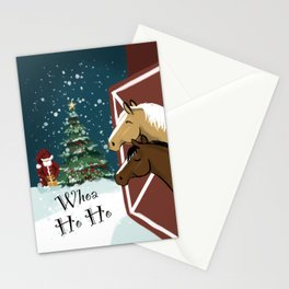 Whoa Ho Ho Stationery Cards