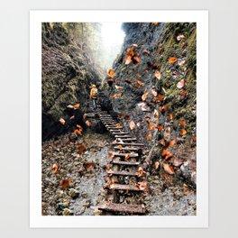 Infinite beautiful Jungle Art Print