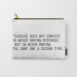 George Bernard Shaw quote Carry-All Pouch