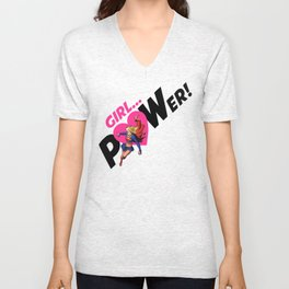 Girl POWER! Kara from Krypton Unisex V-Neck
