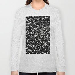 Black and white Galaxy Long Sleeve T-shirt