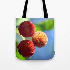 Strawberry tree fruits 8697b Tote Bag