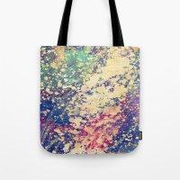 acid Tote Bags featuring Acid by Fernando Vieira