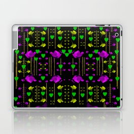 pure roses in the rose garden of love Laptop & iPad Skin