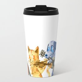 The Town Musicians of Bremen Travel Mug