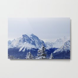 KICKING HORSE RESORT Metal Print