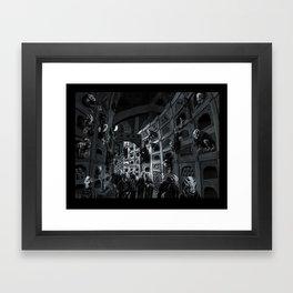 Crypt of the Nosferatu Framed Art Print