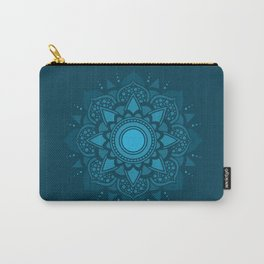 Blue Mandala #4 Carry-All Pouch