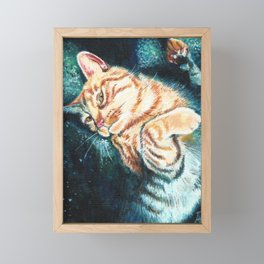Is This Your Cat? Framed Mini Art Print