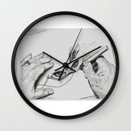 Tory's Eyes Wall Clock