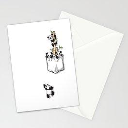 Cute Pocket Pandas Stationery Cards