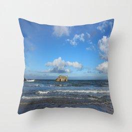 The Great Flood (Mind's Eye) Throw Pillow