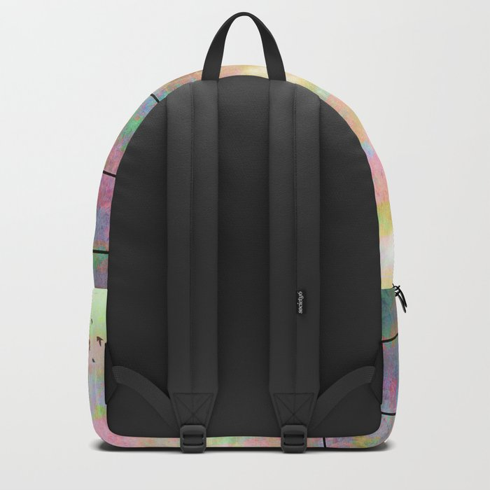 The Quickening, Abstract Sky and Birds Backpack