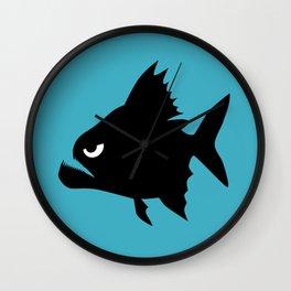 Angry Animals - Piranha Wall Clock