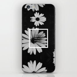 little notes : she was a hurricane iPhone Skin