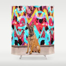 Georg Likes to Boogie Shower Curtain