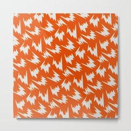 lightning pattern Metal Print